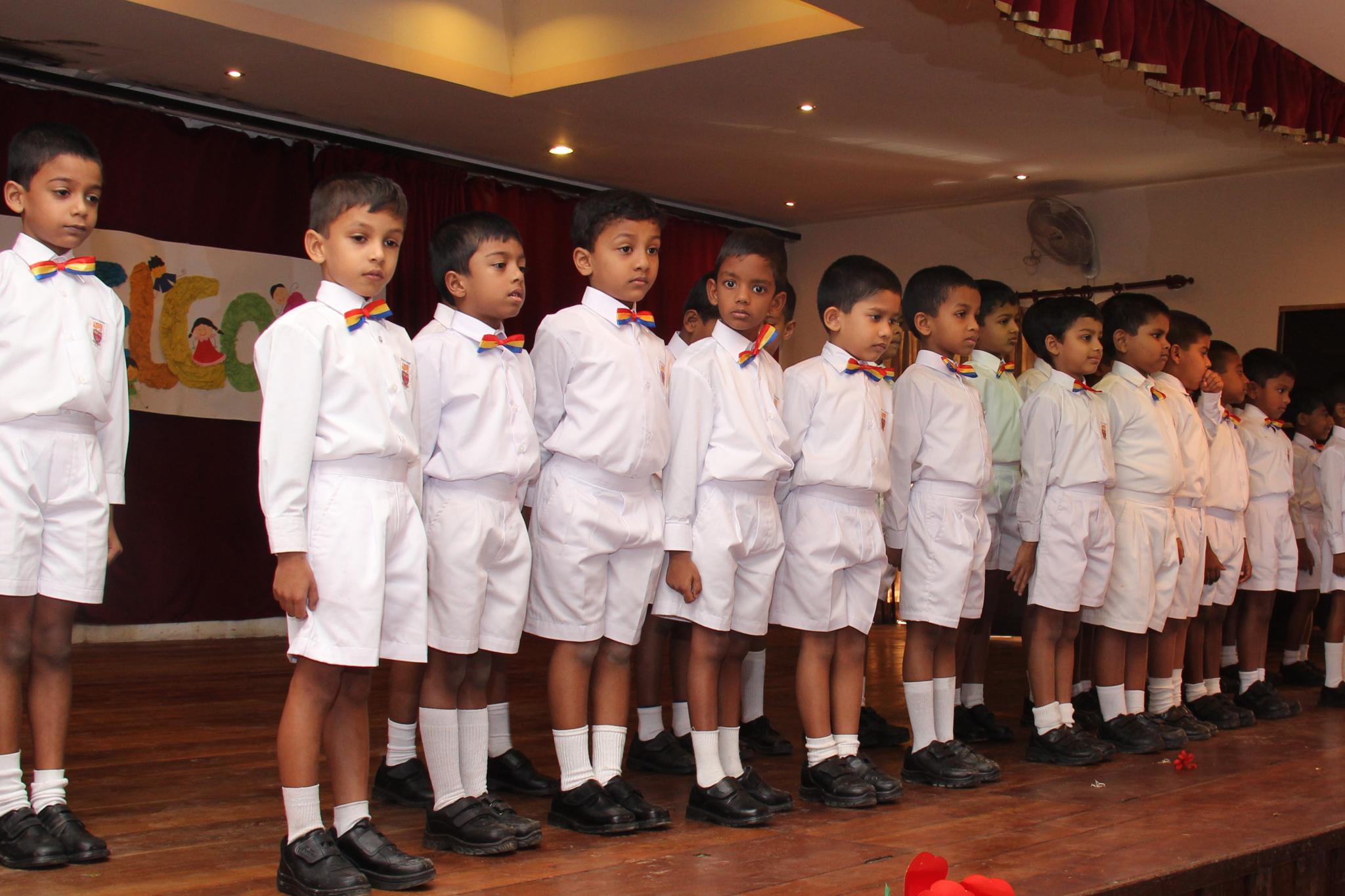 Junior School Choir Trinity College kandy