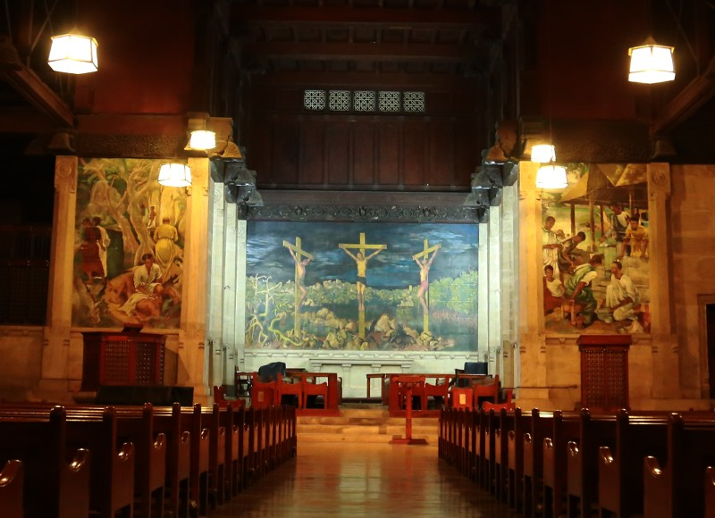 Trinity College Chapel interior