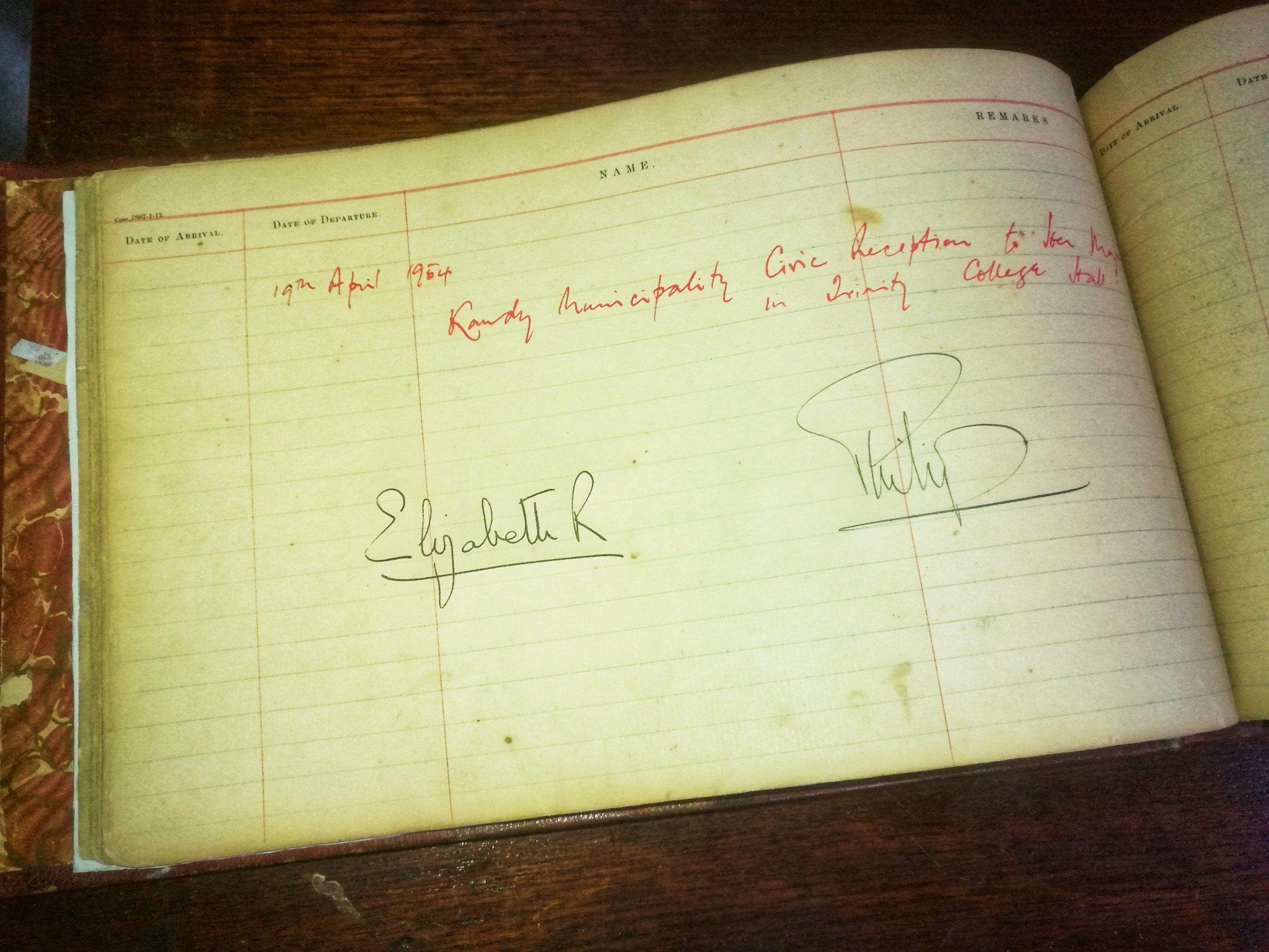 Guest Book 1954