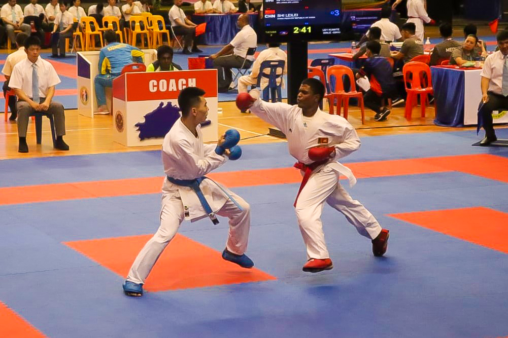 Trinity Karate fighter ranked 7th at the Asian Karate Championship